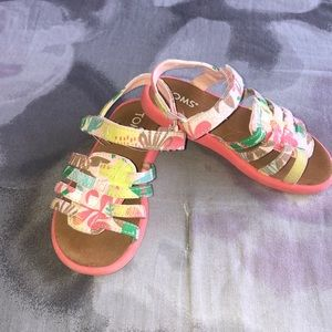 Toms girls sandals